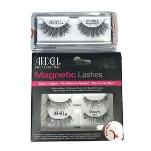 Ardell Double Whispies + Magnetic Lashes Lot New (